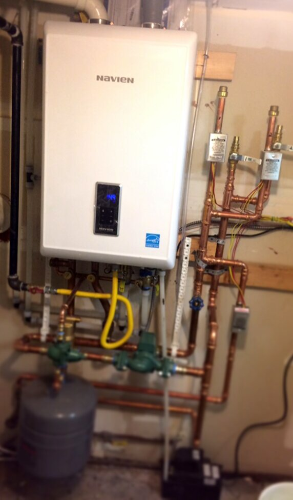 Navien Combi Boiler/Water Heater Wall Hung