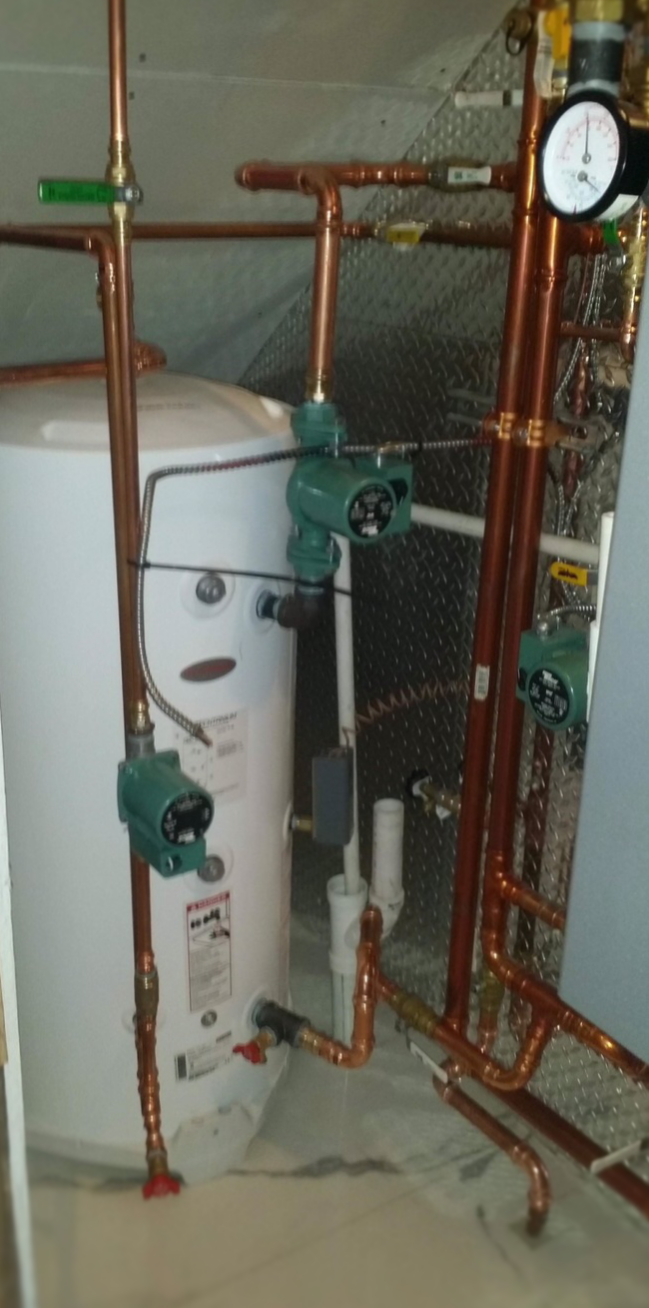 Techtanium Indirect Water Heater